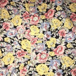 Vintage Shorts - Vintage floral Denim Jean shorts